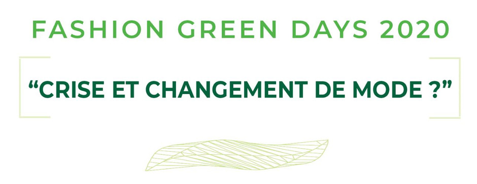 Fashion Green Days 2020 - du 17 au 19 juin