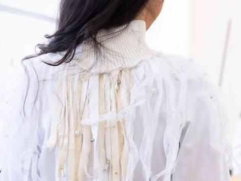 Des sweatshirts blancs et éco-responsables en 1ère année
