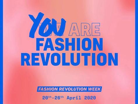 Fashion Revolution Week du 20 au 26 avril 2020