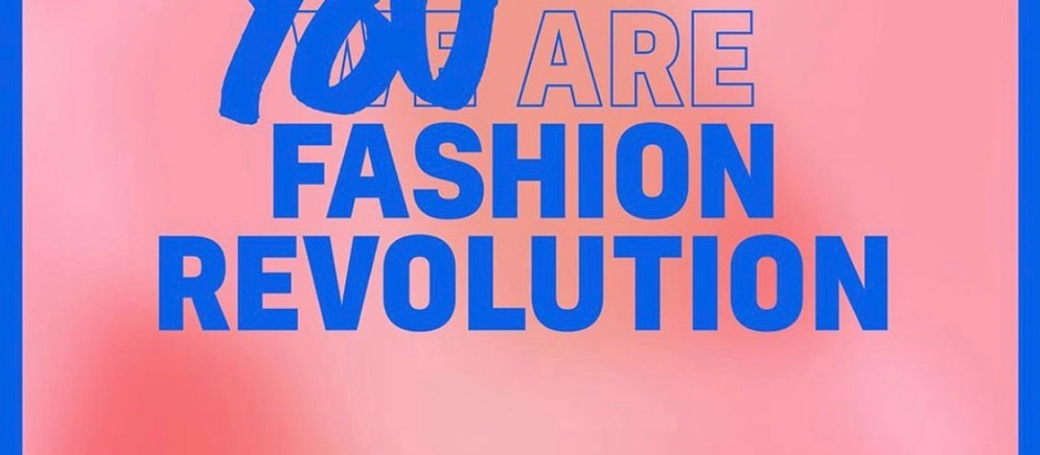 Fashion Revolution Week du 20 au 26 avril 2020