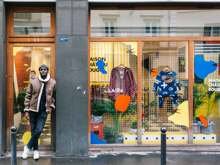 Youssouf Fofana, fondateur de la marque Maison Château Rouge, parrain de la promo 2018 !