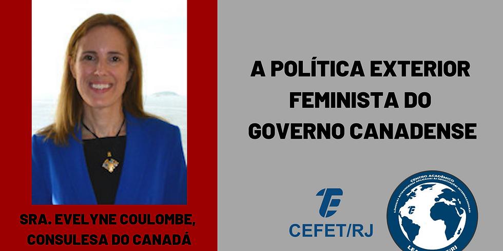 Palestra: A política exterior feminista do governo canadense