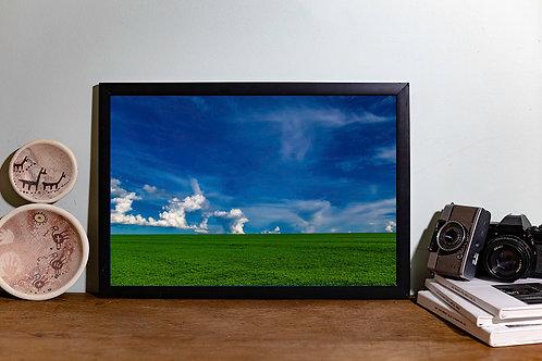 Verde nuvens I