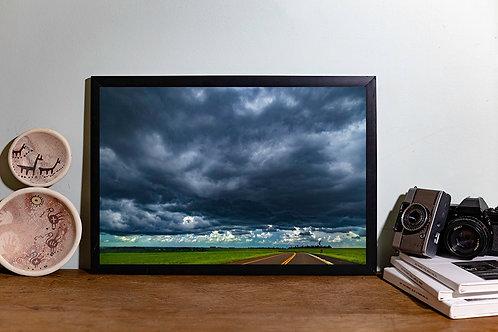 Verde nuvens IV