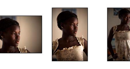 Como fazer um retrato, ainda que demore cinco dias pra realiza-lo.