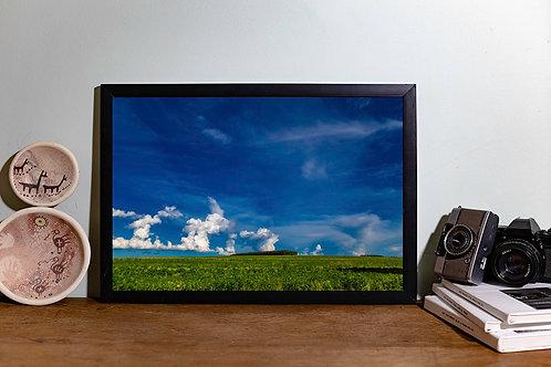 Verde nuvens II