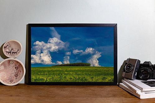 Verde nuvens III