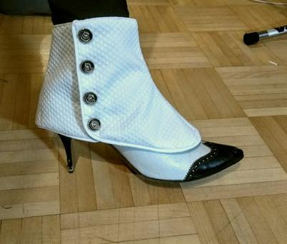 MENSWEAR FOR WOMEN: 1920s Tuxedo spats