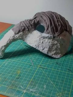 Elephant Mask (in progress)