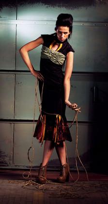 PETRIFIED: Womenswear inspired by petrified wood, roots, and moss