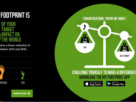 How Big Is Your Environmental Footprint?