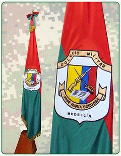 Bandera Colegio Militar
