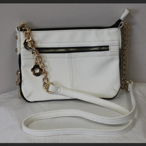 """CHAINED"" MESSENGER BAG"