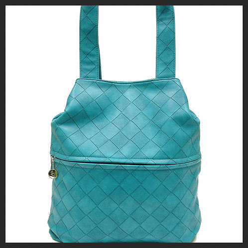 LARGE BLUE TOTE BAG
