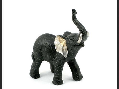 SMALL BLACK / SILVER ELEPHANT