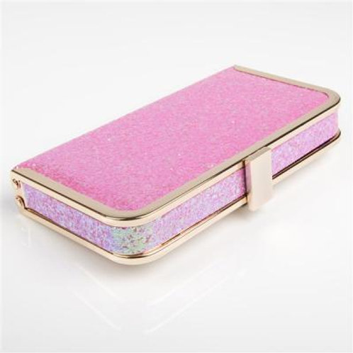 DIAMOND DUST PINK CLUTCH