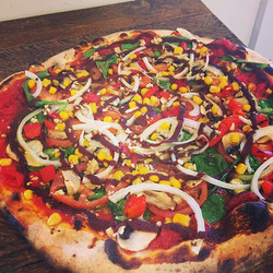 This weekend we have had more requests for #vegan pizzas than ever! Truly delicious masterpiece!