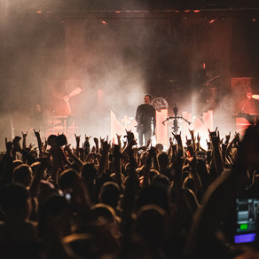 Motionless in White and Beartooth at the Marquee Theater in Tempe, AZ