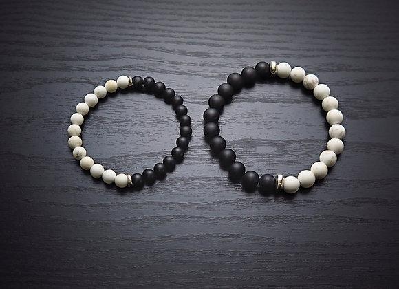 Yin/Yang Duo Bracelet Set