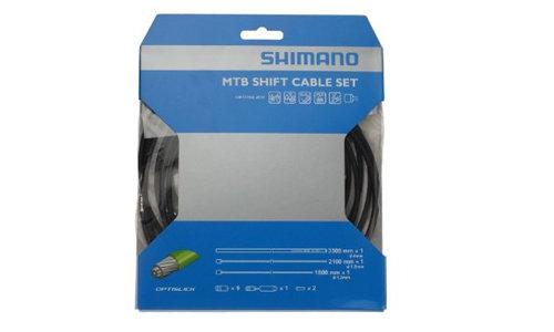 SHM MTB OPTISLIK SHIFT CABLE SET BLACK