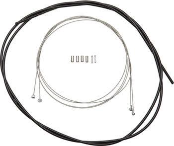 SHM.MTB SUS BRAKE CABLE SET 2200MM BLACK