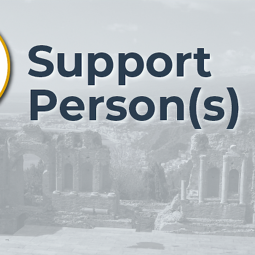 Support Persons and Advocates