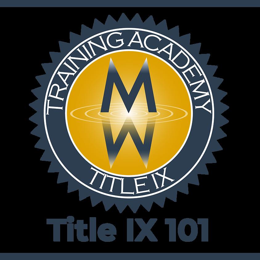 Title IX 101