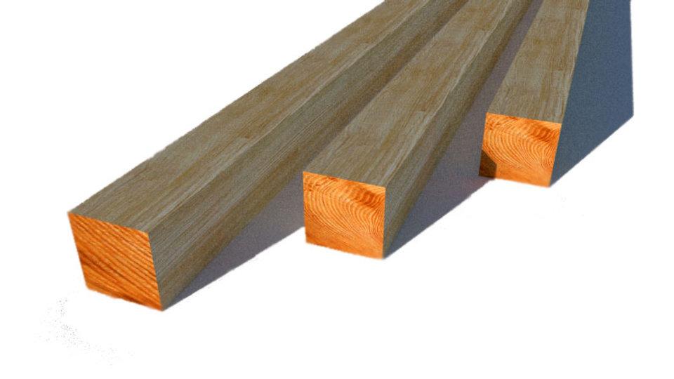 БРУС деревянный 150х150х6000 мм