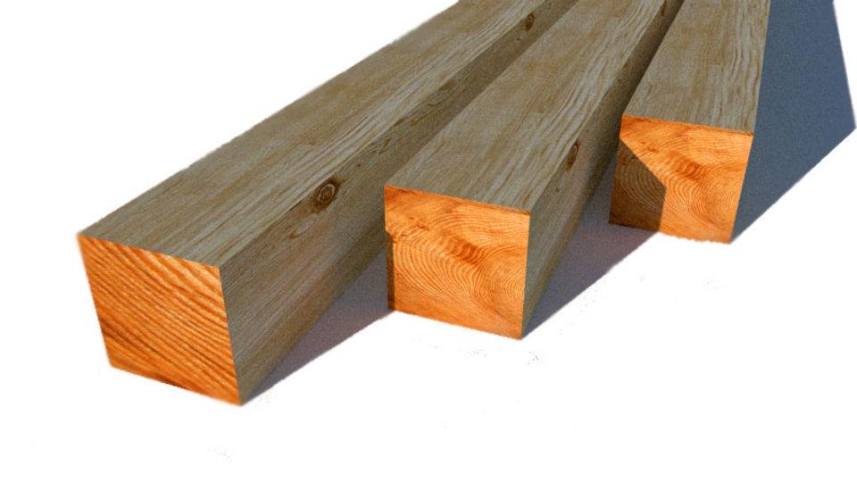 БРУС деревянный 200х200х6000 мм