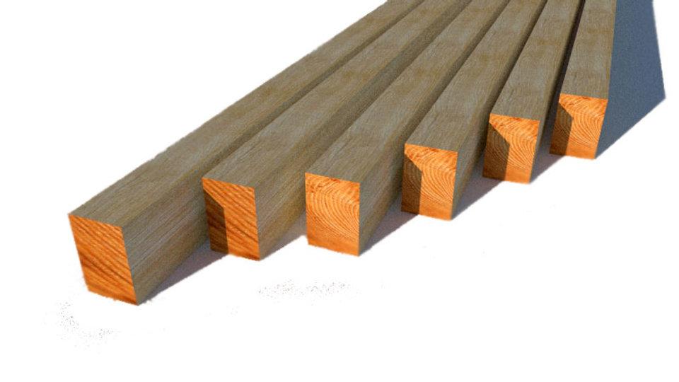 БРУС деревянный 100х150х6000 мм