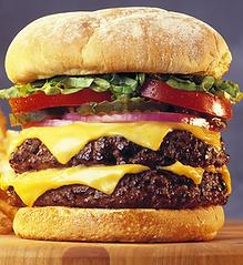 A high carbon burger