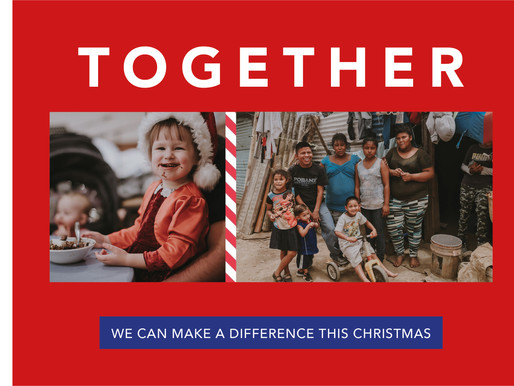 Coming together this Christmas right from your home