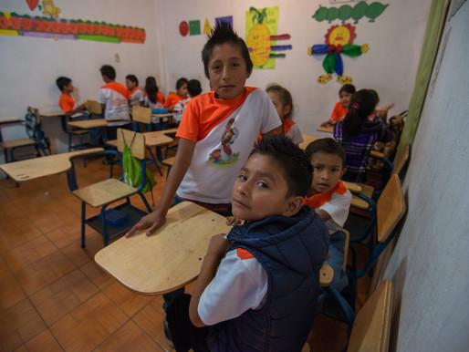 120 Children go back to school