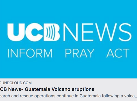 Volcano Eruption - UCB Radio report