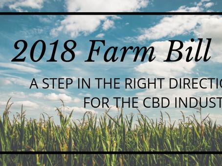 2018 Farm Bill: Positive Progress for Hemp-Derived CBD