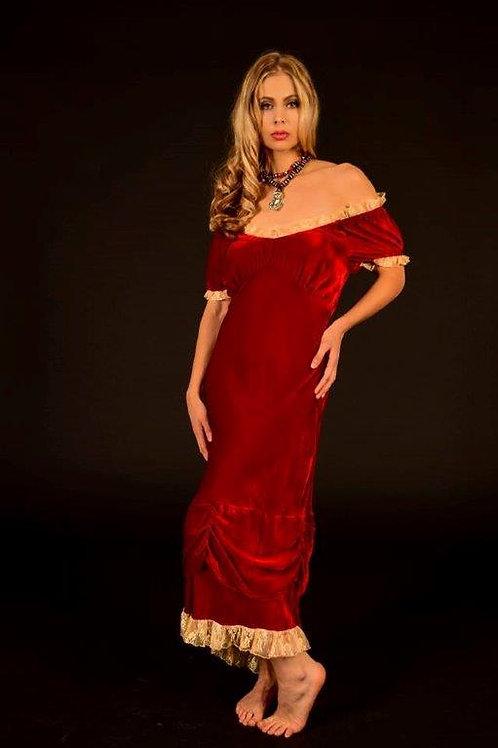 Velvet Bustier Dress