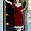 Thumbnail: Bustier Dress with Tan Lace Trim