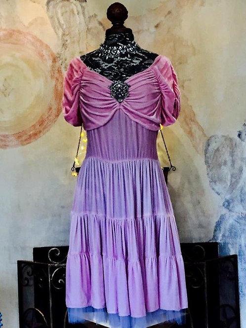 Fantasy Dress in Silk Velvet