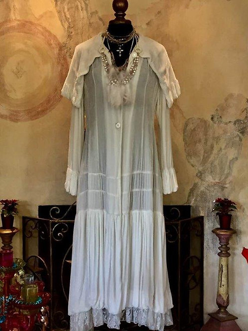 Victorian Western Coat in silk velvet