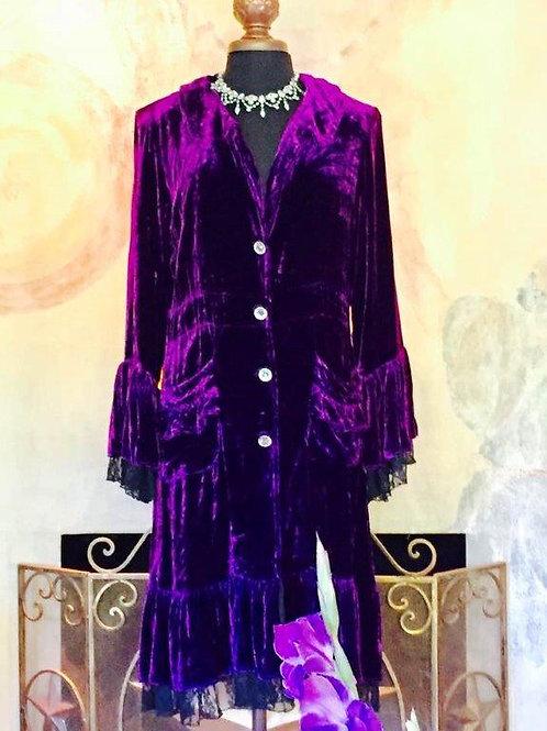 Victorian Velvet Coat