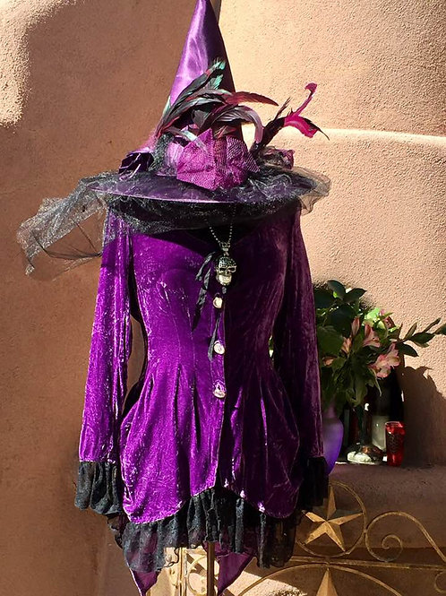 Belle Jacket is Silk velvet