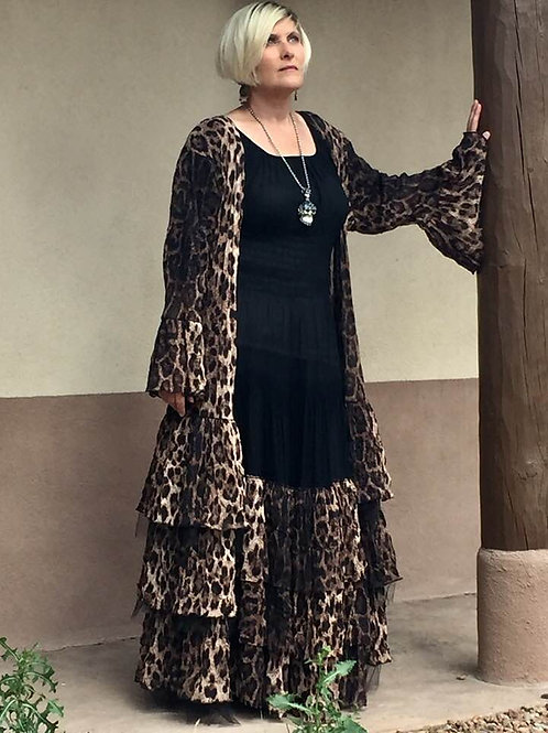 Leopard Duster and Rodeo Cinderella Dress
