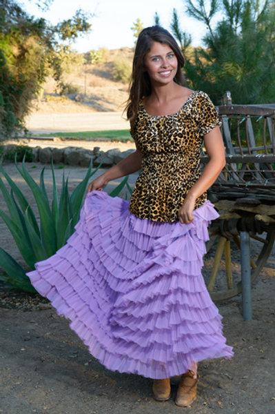 Flamenco Skirt and Peasant Puff Top