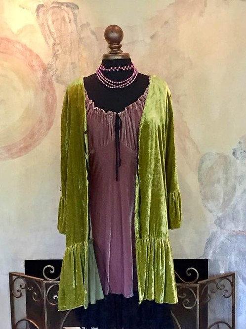 Love Duster & Saloon Dress (silk velvet)