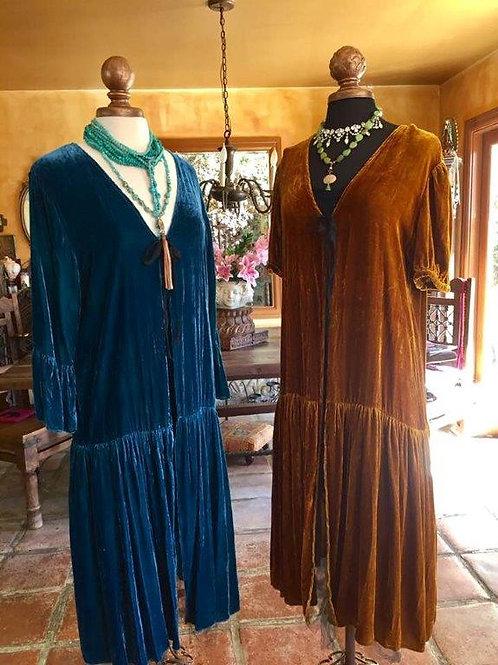 Love Dusters in Silk Velvet