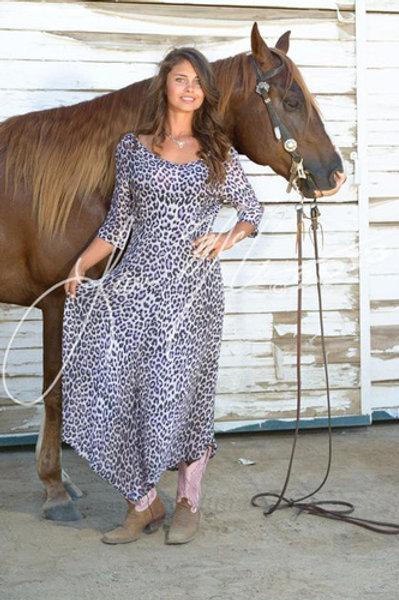 Leopard Vintage Dress