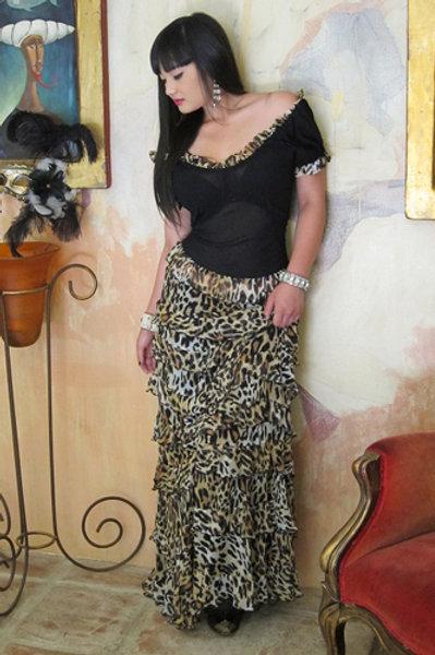 Bustier Top Princess Skirt