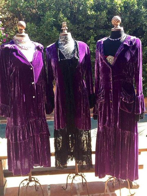 Velvet Duster Coats