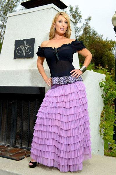 Flamenco Skirt and Bias Top