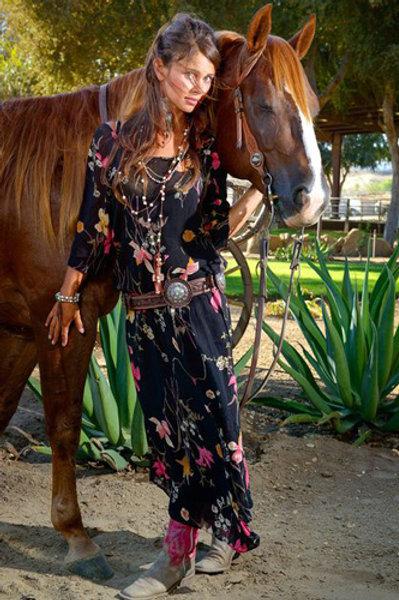Western Vintage Dress